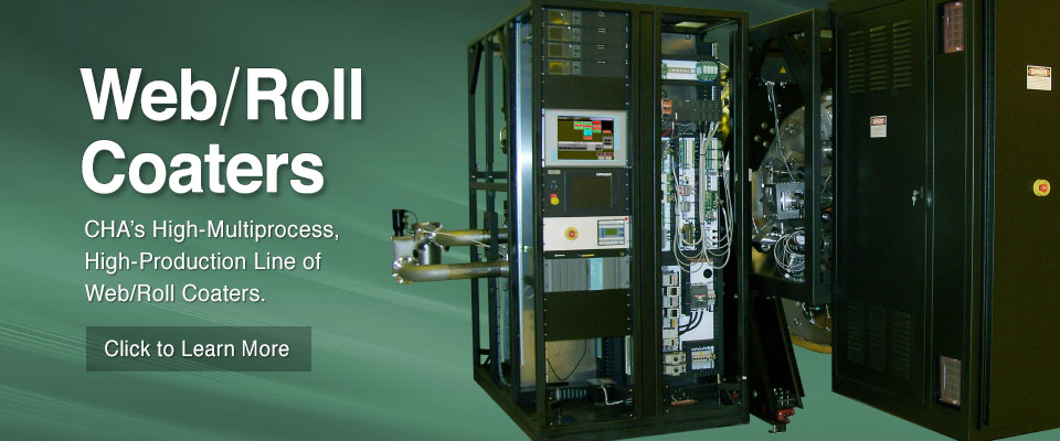 CHA's High-Multiprocess, High-Production Line of Web/Roll Coaters.