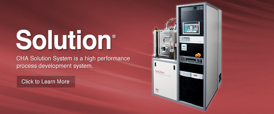 CHA's Solution System is a high performance Process Development System.
